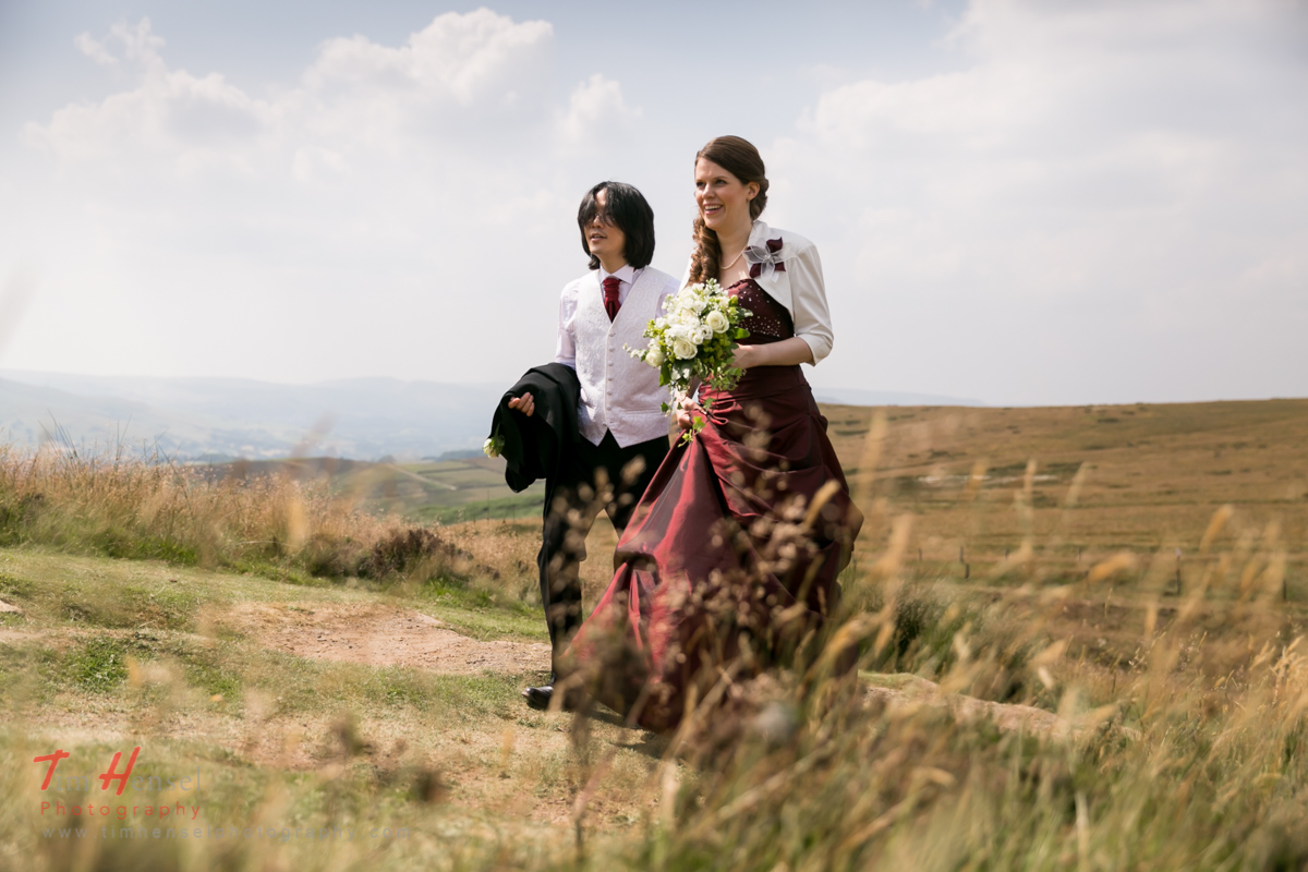 wedding photographer peak district losehill house hope valley derbyshire