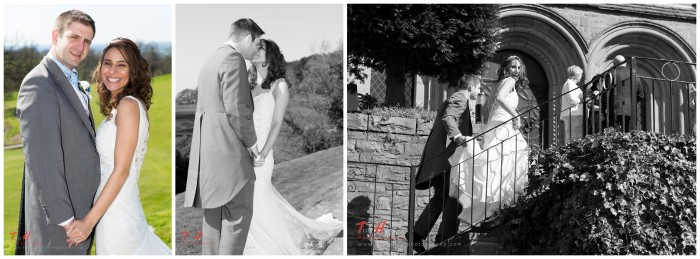 natural wedding photographer at shrigley hall