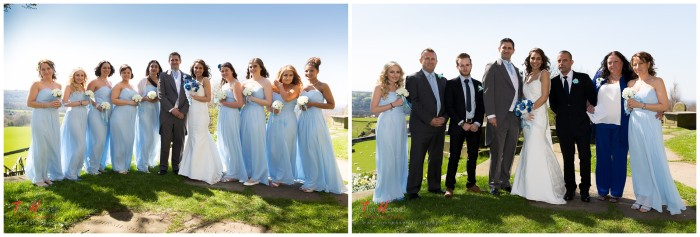 A couple of the formal group wedding photographs, we took about 10 different ones of these.