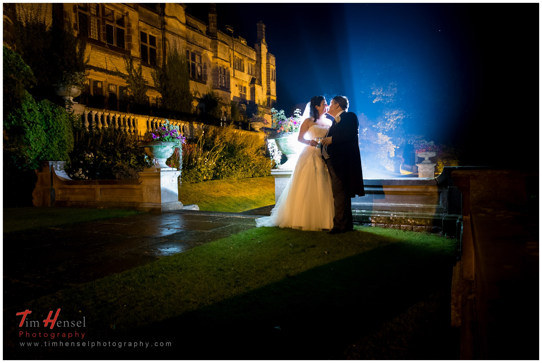 Relaxed, Creative wedding photography at Thornbridge Hall in Derbyshire