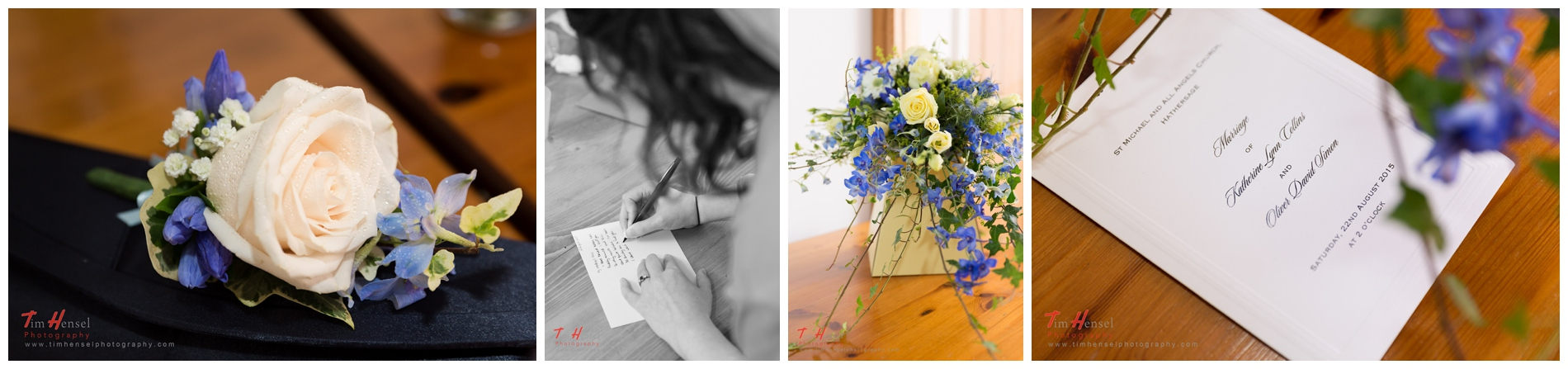 details during the bride's preparation for her wedding in derbyshire