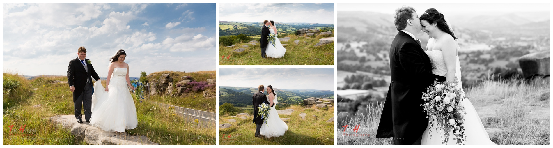 creative, natural wedding photography in derbyshire