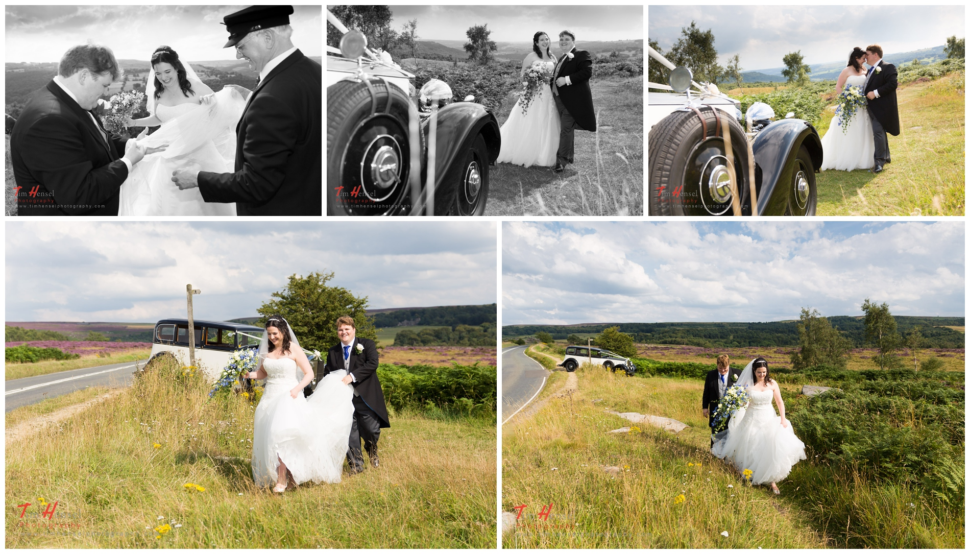 relaxed wedding photography in derbyshire's peak district