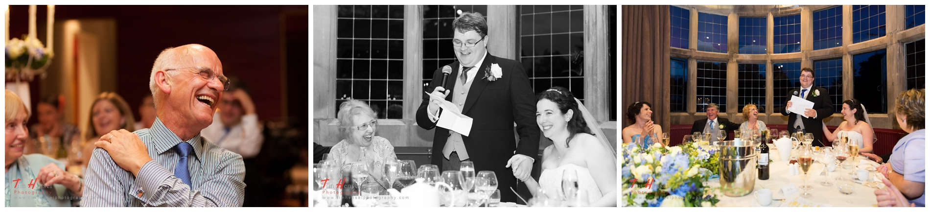 More speeches photos, an excellent opportunity for relaxed wedding photos