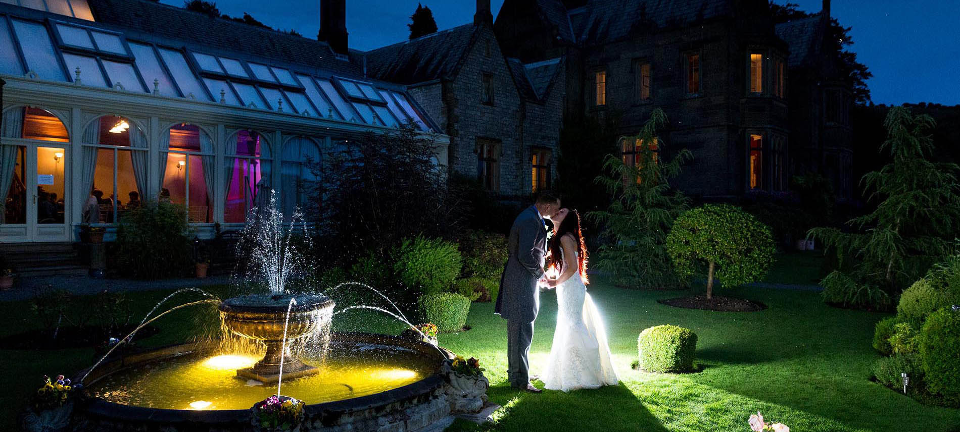 creative wedding photography in kent