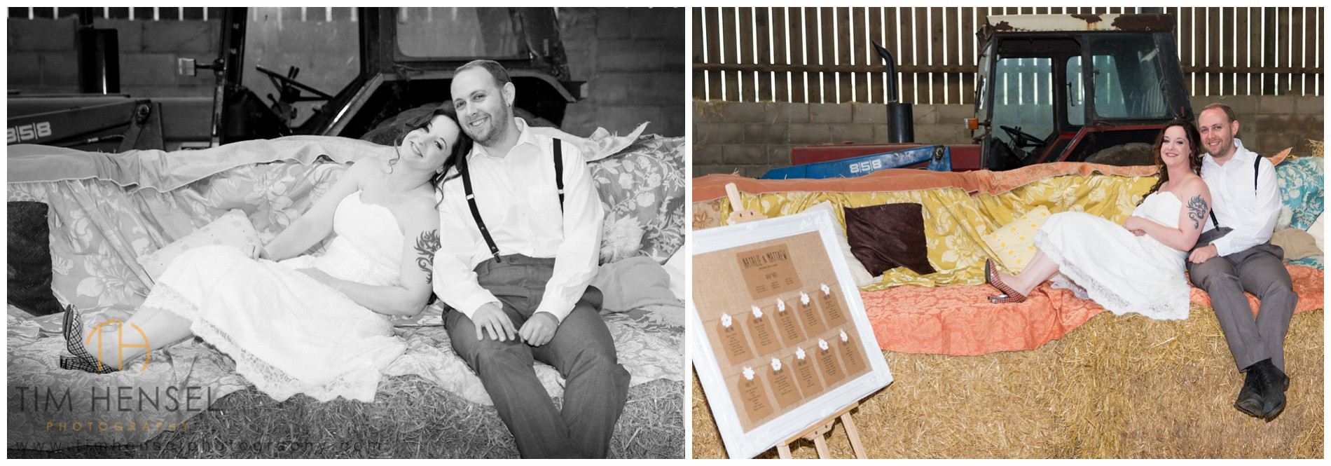 Rustic and Relaxed wedding photography in Derbyshire