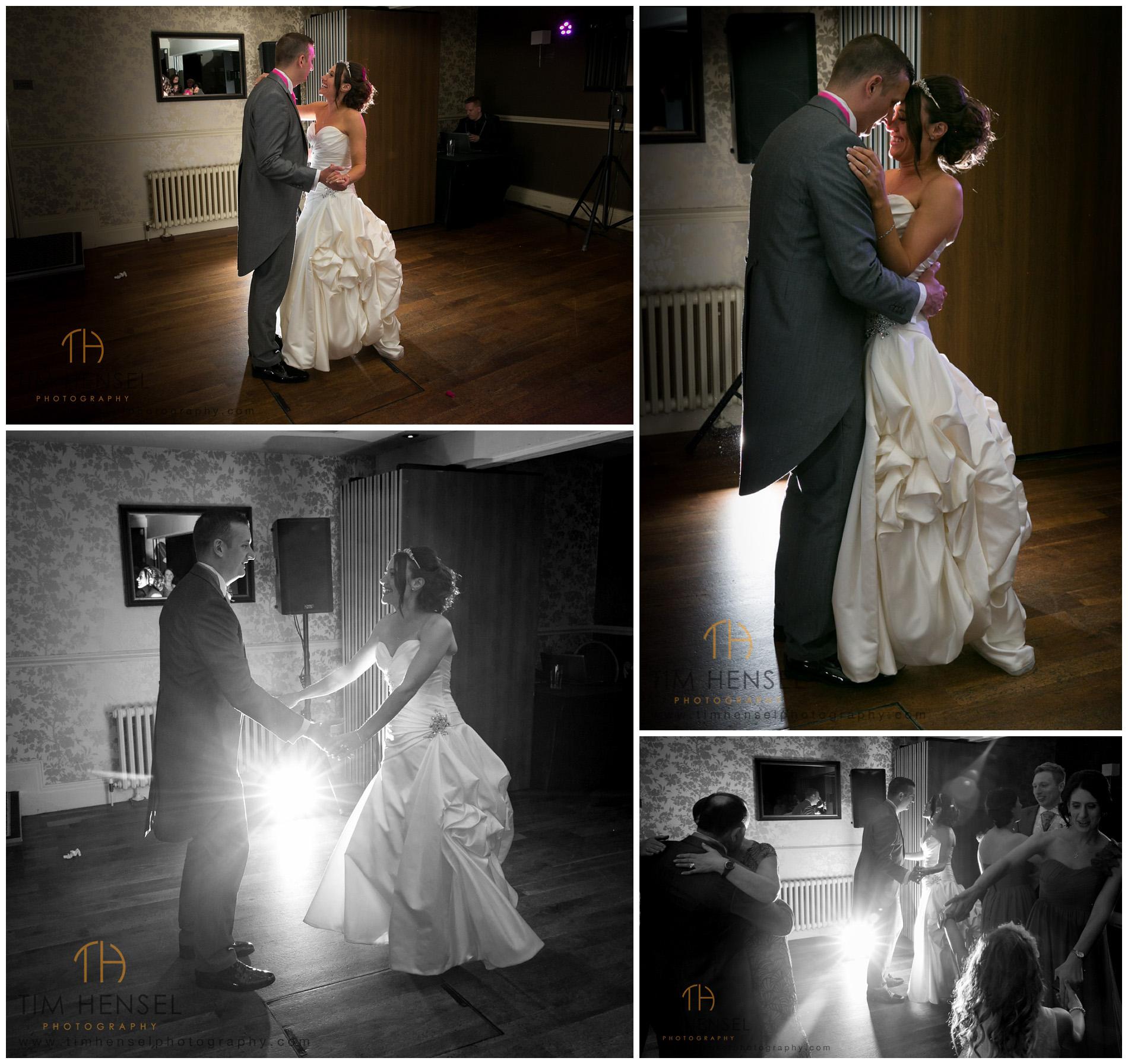 First dance wedding photos at Alderley Edge Hotel