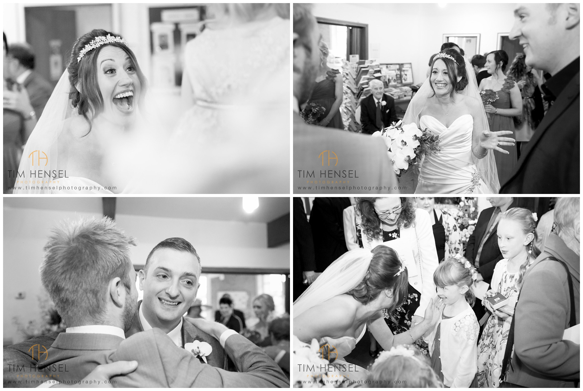 Capturing the moment at a wedding in Stockport
