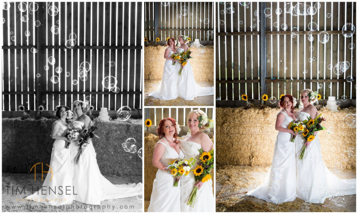 Rustic civil partnership photography in Derbyshire
