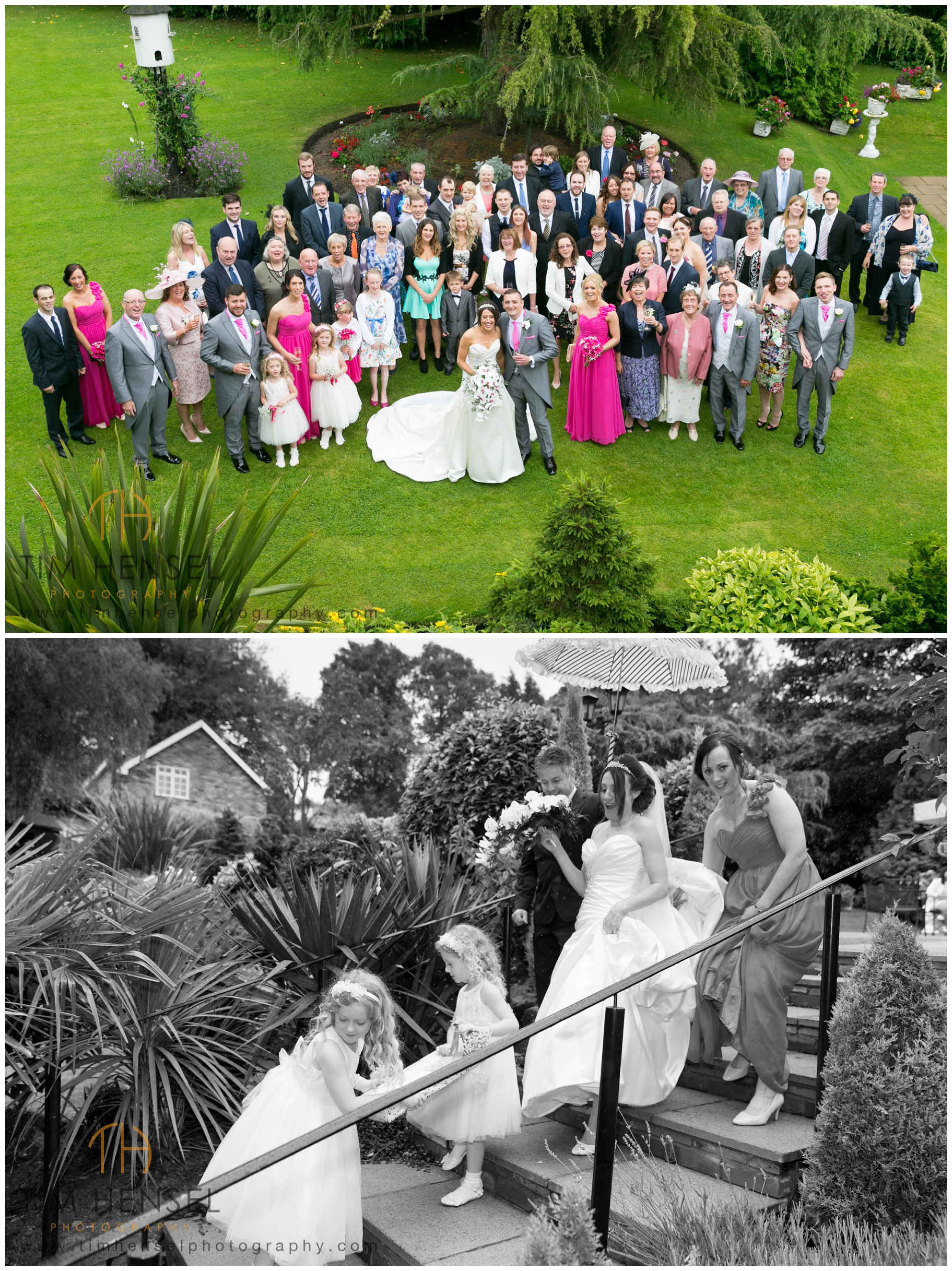 Large Group Photograph at Alderley Edge Hotel, Cheshire