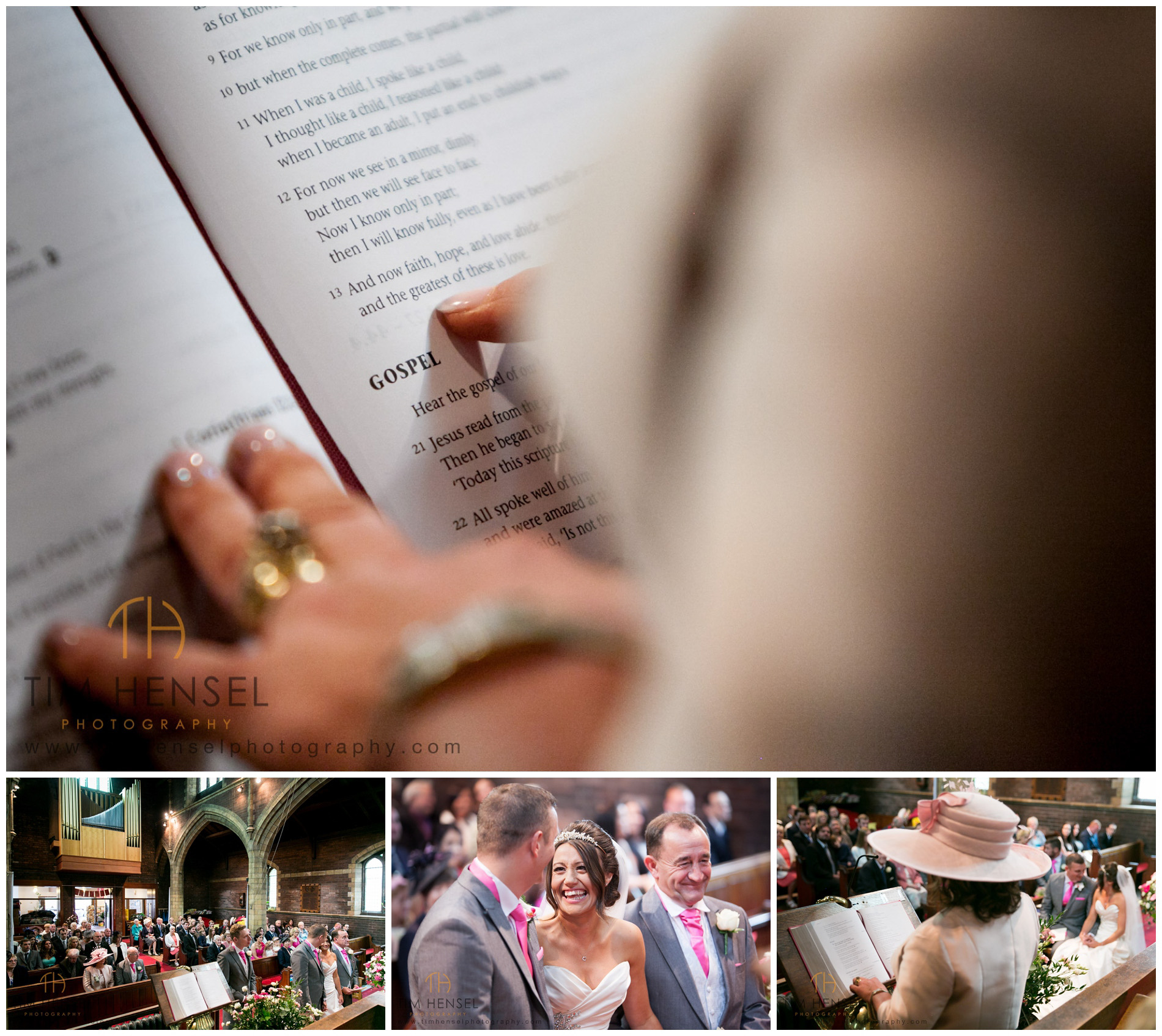 I photograph the moments and the emotions at a wedding
