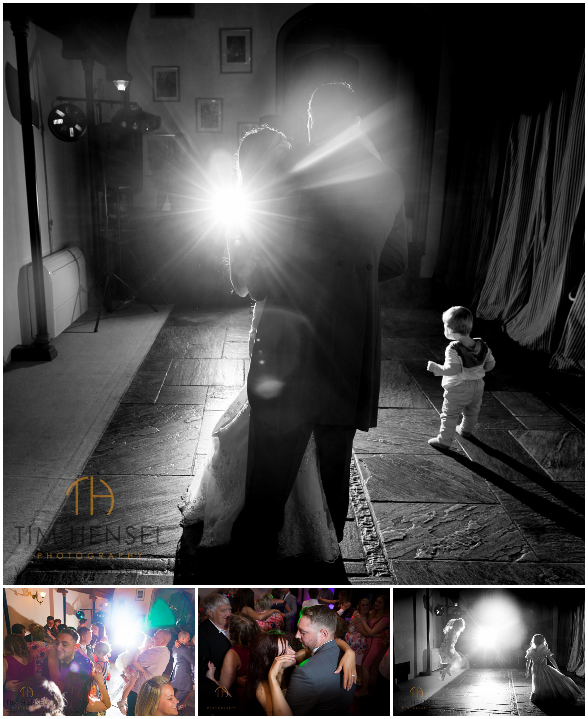 Creative wedding photography at Cressbrook Hall in Buxton, Derbyshire