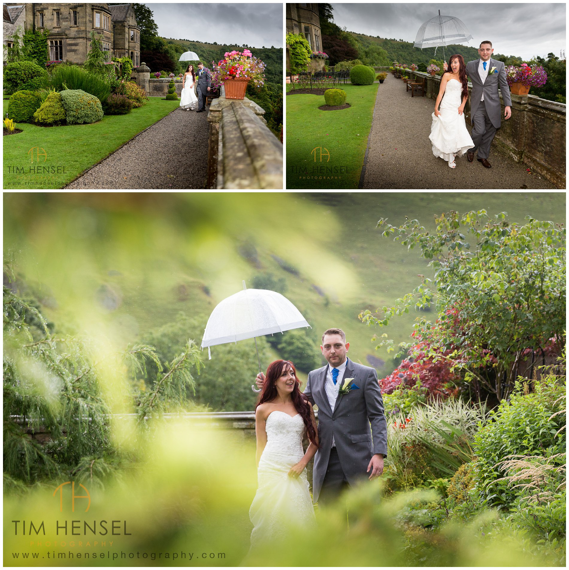 Natural wedding photography at Cressbrook Hall in Derbyshire