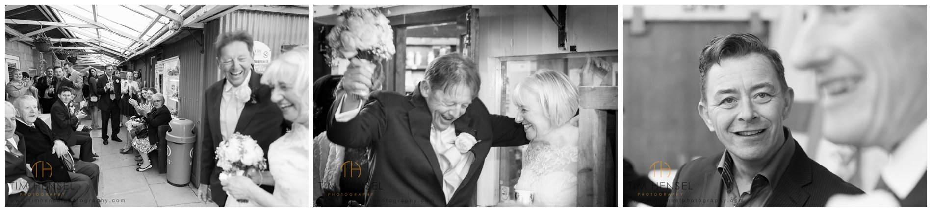 A wedding at Treak Cliff Cavern in Derbyshire