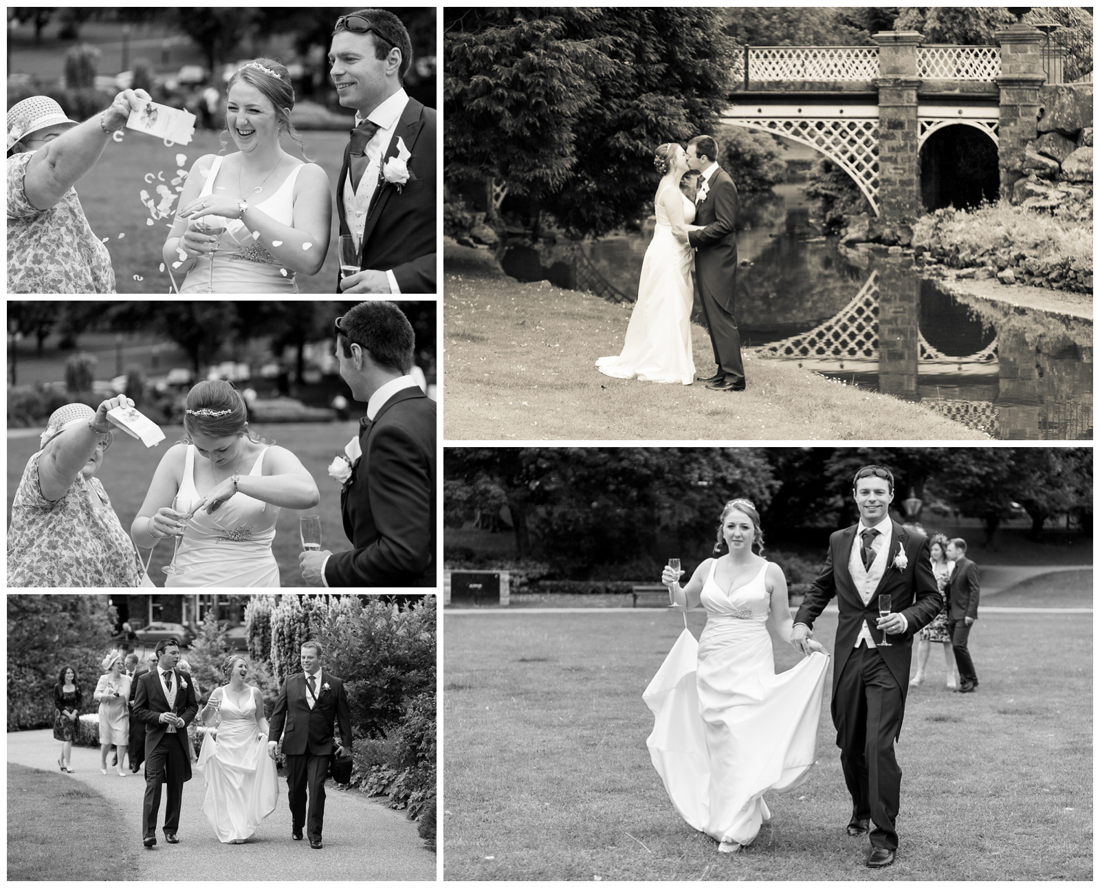 Natural wedding photography at The Old Hall Hotel in Buxton, Derbyshire