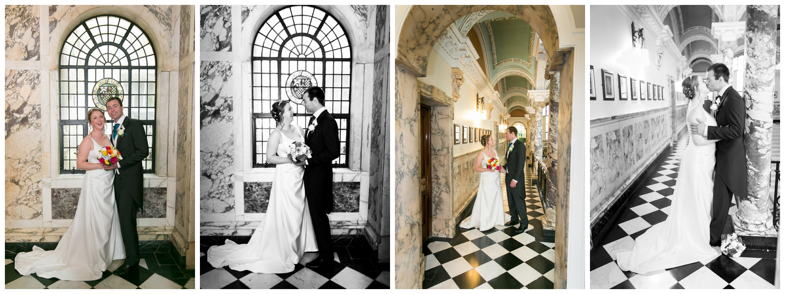 Wedding photography at Stockport Town Hall