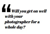 Tips on choosing a wedding photographer