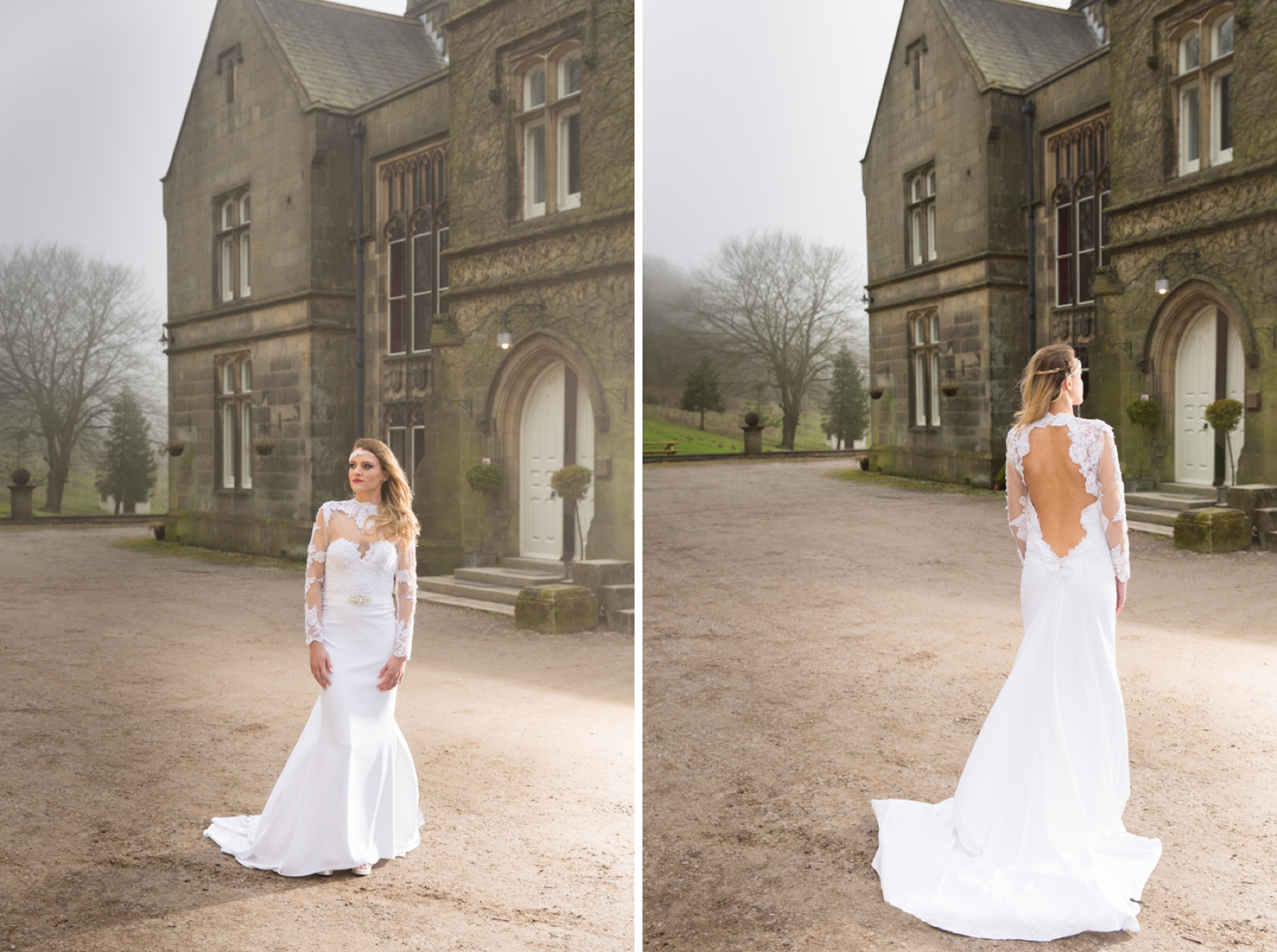 creative wedding photography at Hargate Hall