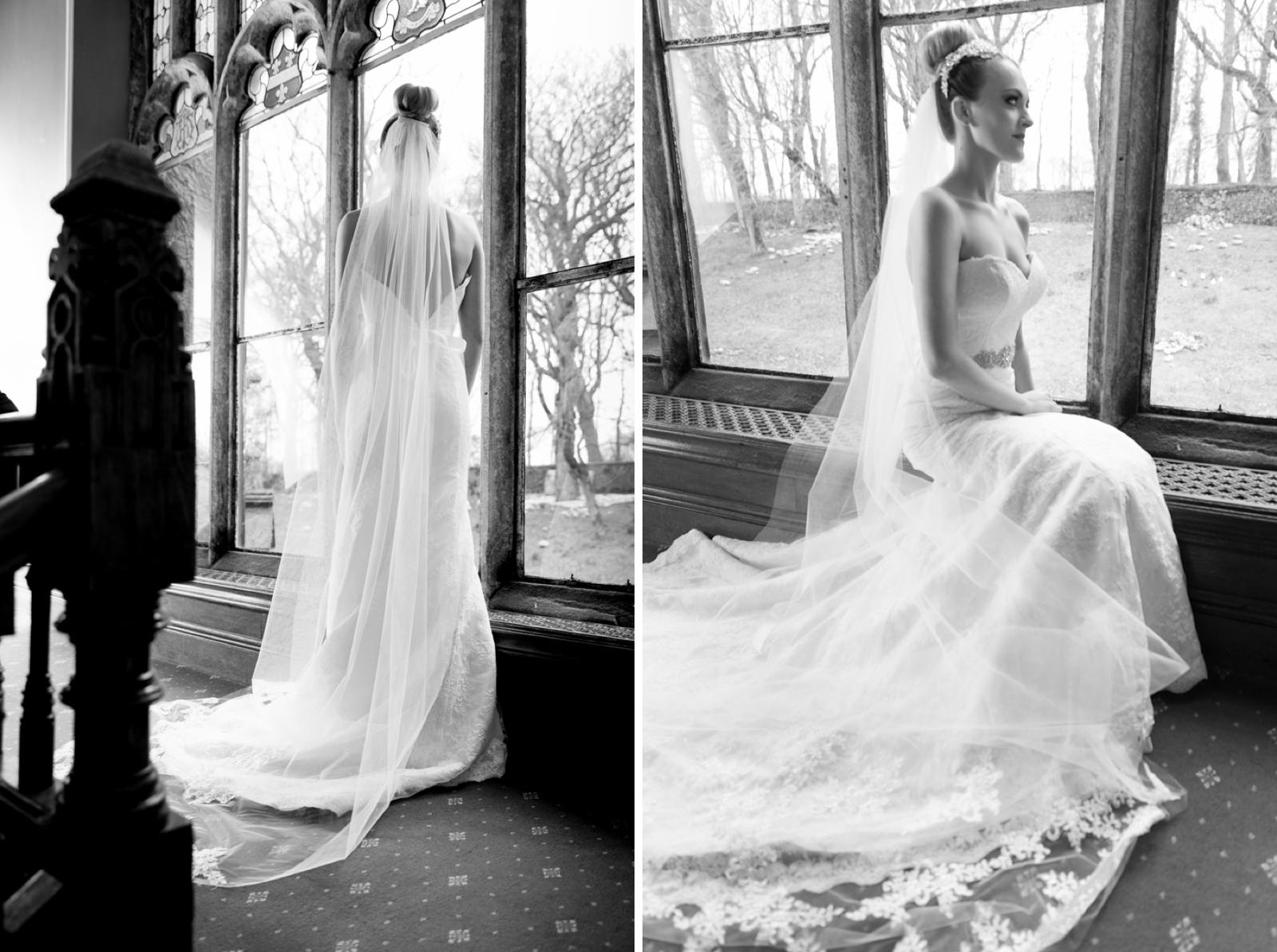 Natural wedding photos at hargate hall