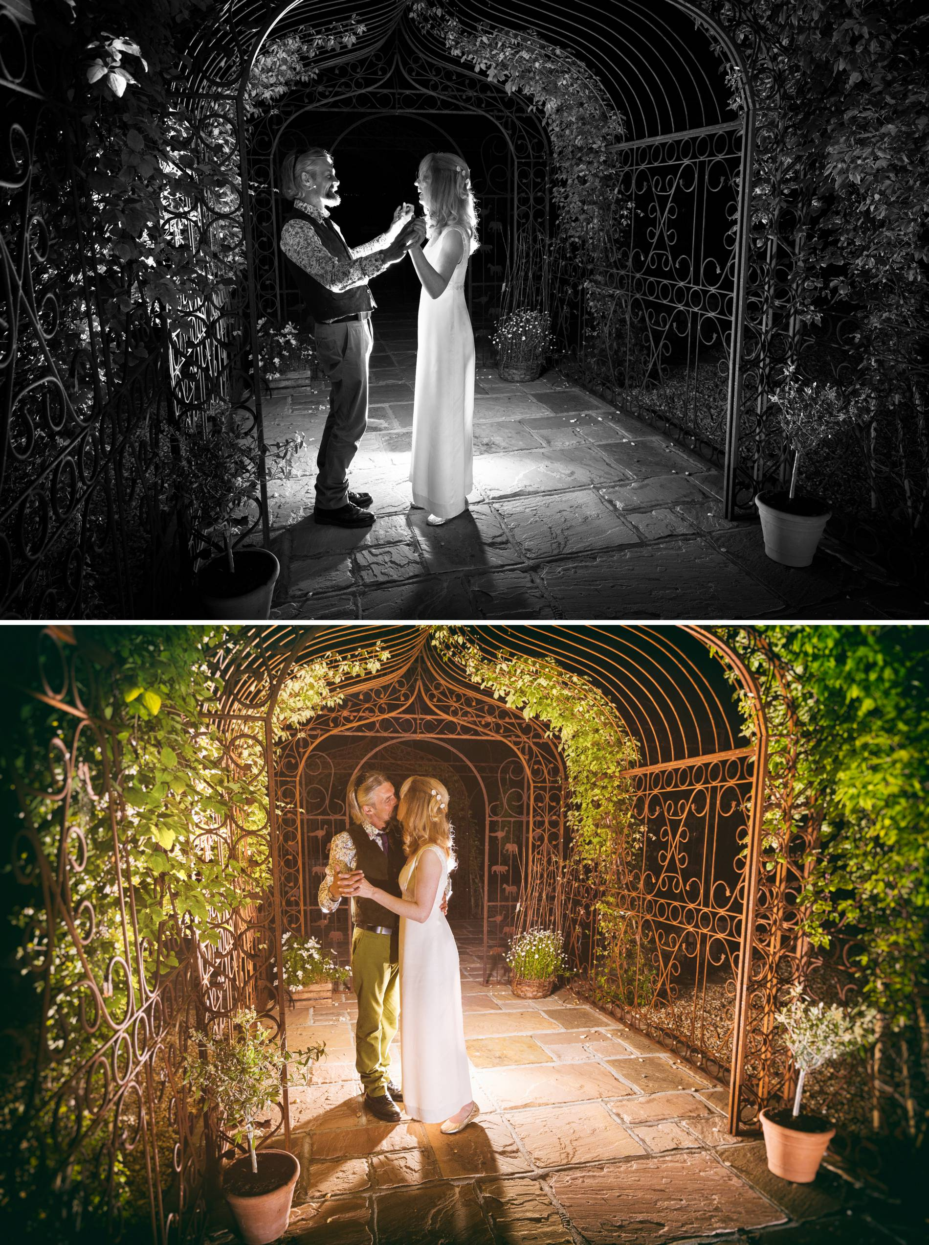 Creative wedding photography in sussex