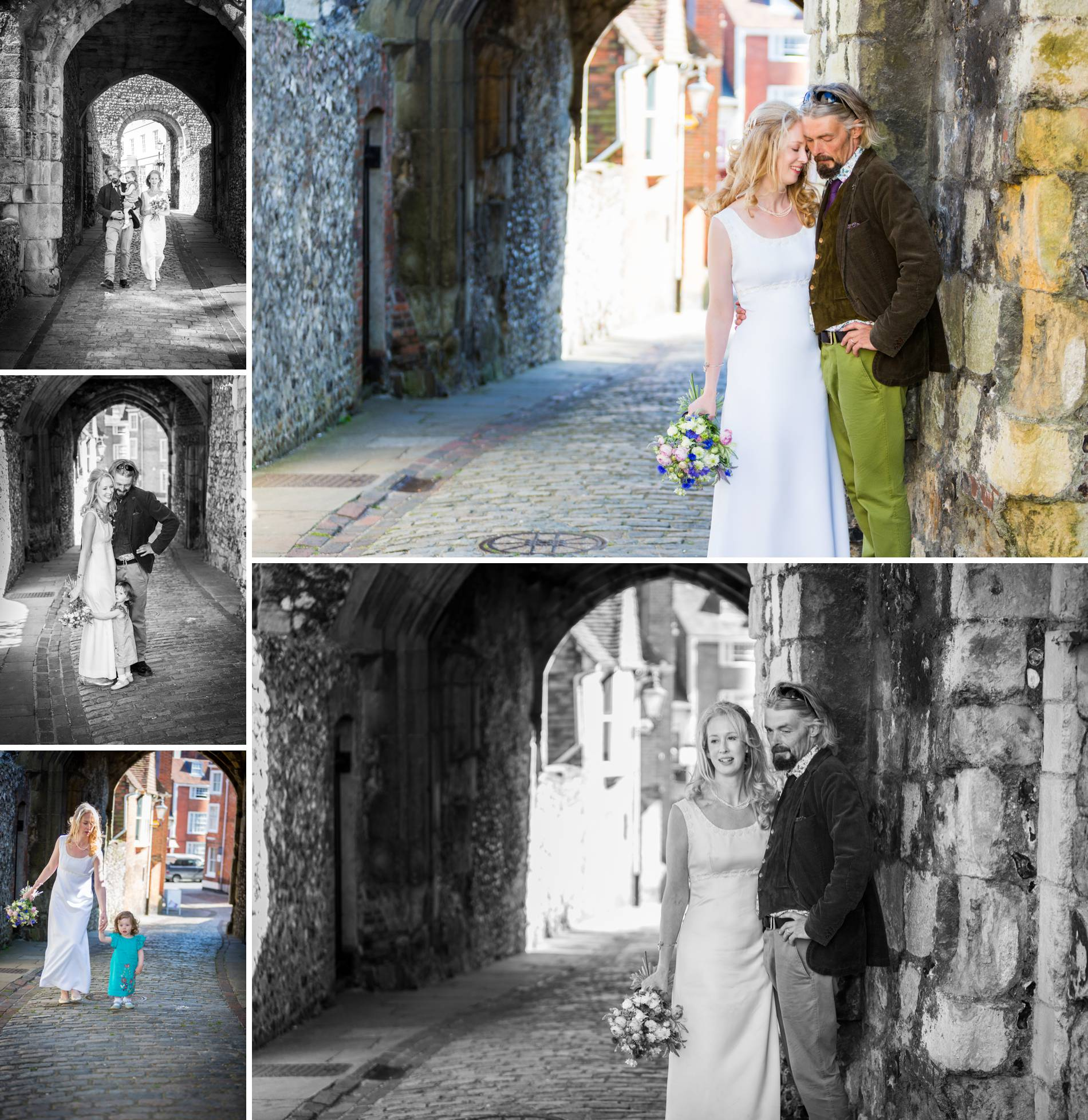 Wedding photography at Lewes Castle in Sussex
