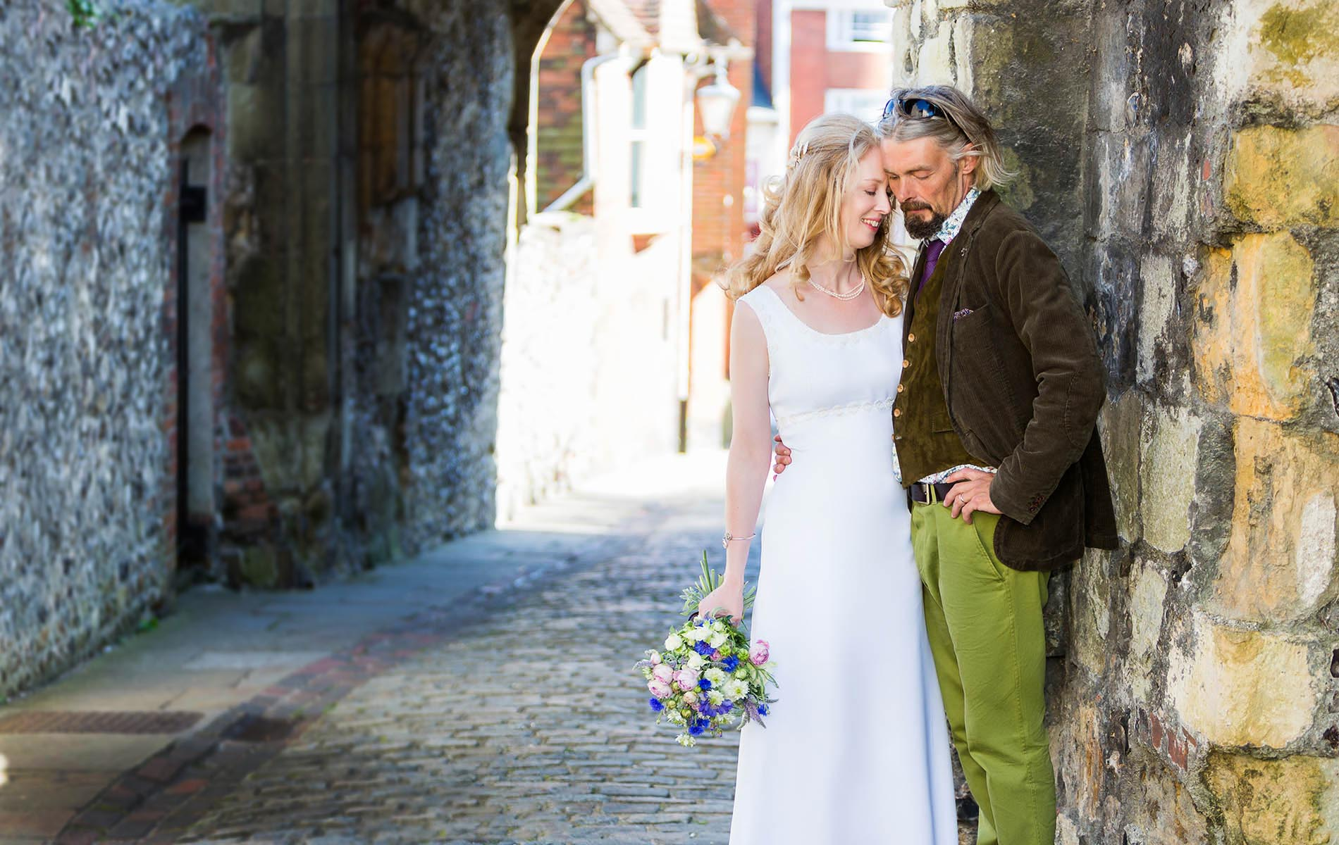 Natural wedding photos in Kent