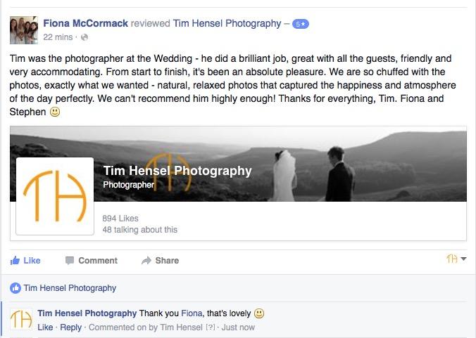 reviews of wedding photographers