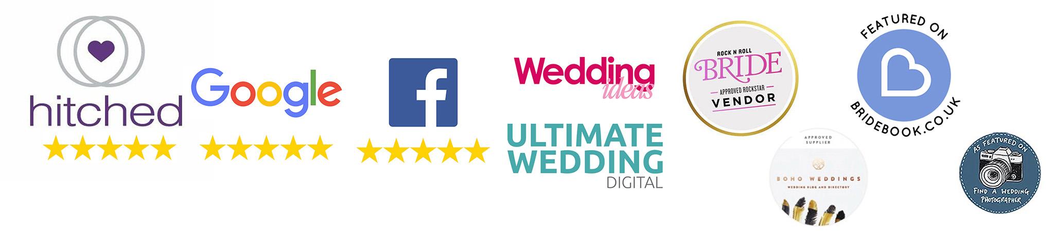 5 star wedding photographer kent