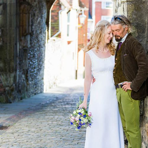 Wedding photography at Lewes Town Hall & Trading Boundaries, Sussex
